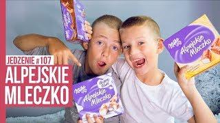 MILKA ALPEJSKIE MLECZKO / JEDZENIE #107