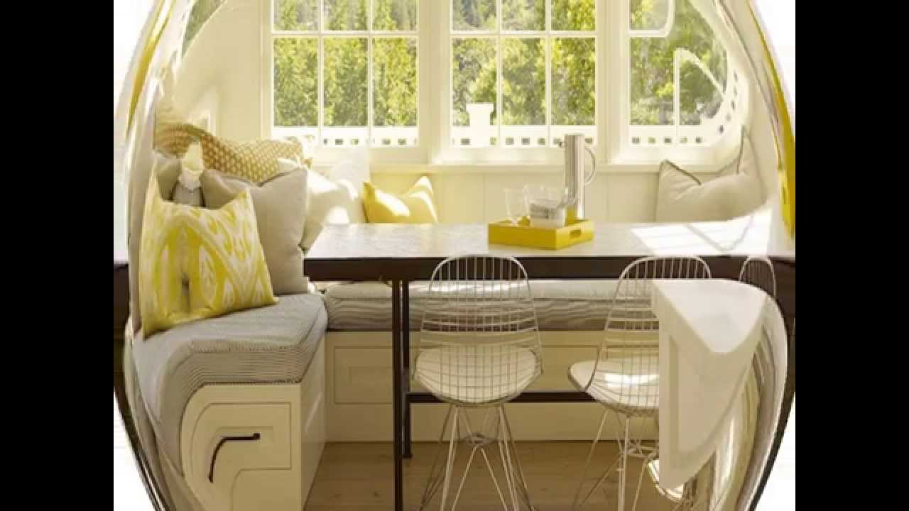 Dining Room Benches with Storage Ideas - YouTube