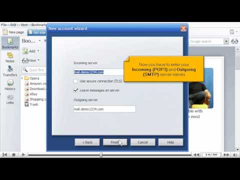 How to Configure Opera mail by www.vivahost.com