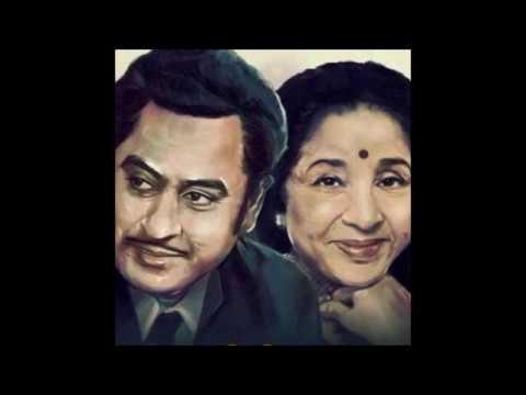 Kishore Kumar and Asha Bhosle_Kabhi Khulke Mile (Karwat; Bappi Lahiri, Gulshan Bawra; 1982)