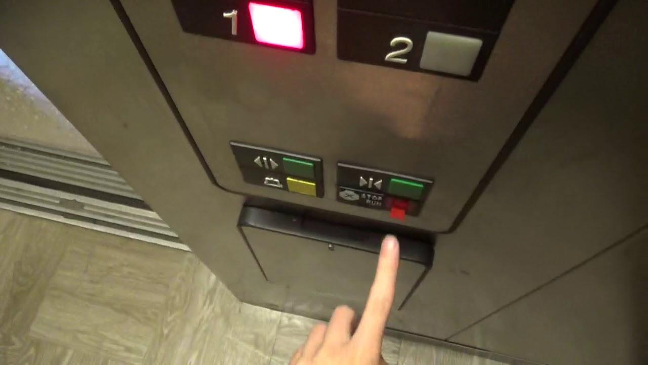 Otis Series 1 Hydraulic Elevator @ Red Roof Inn Albany NY