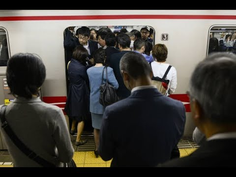 Tokyo Aims to Tackle Crowded Trains