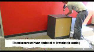 Ultimate Storage 3 Drawer 1 Door Cabinet Assembly