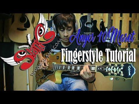 Tutorial Fingerstyle Slank Anyer 10 Maret