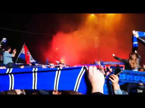 2017-2018 - Standard-Club Brugge - Kampioenenfeestje Aan Het Stadion - YNWA