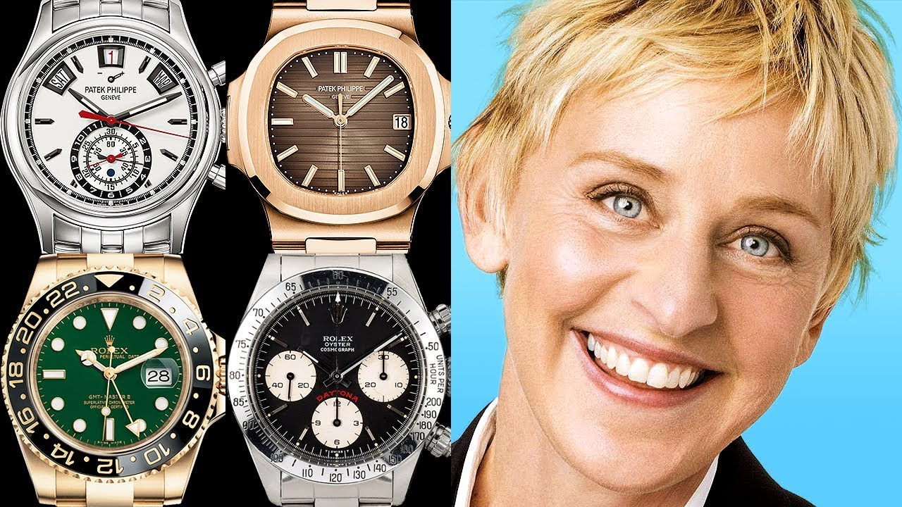 b16f2e807e783 Ellen DeGeneres Watch Collection - Rated from 1 to 10! - YouTube