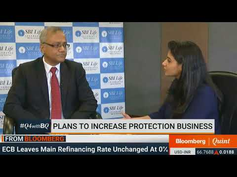 Mr. Sanjeev Nautiyal MD & CEO, SBI Life interview with Bloomberg Quint - 27 April 2018
