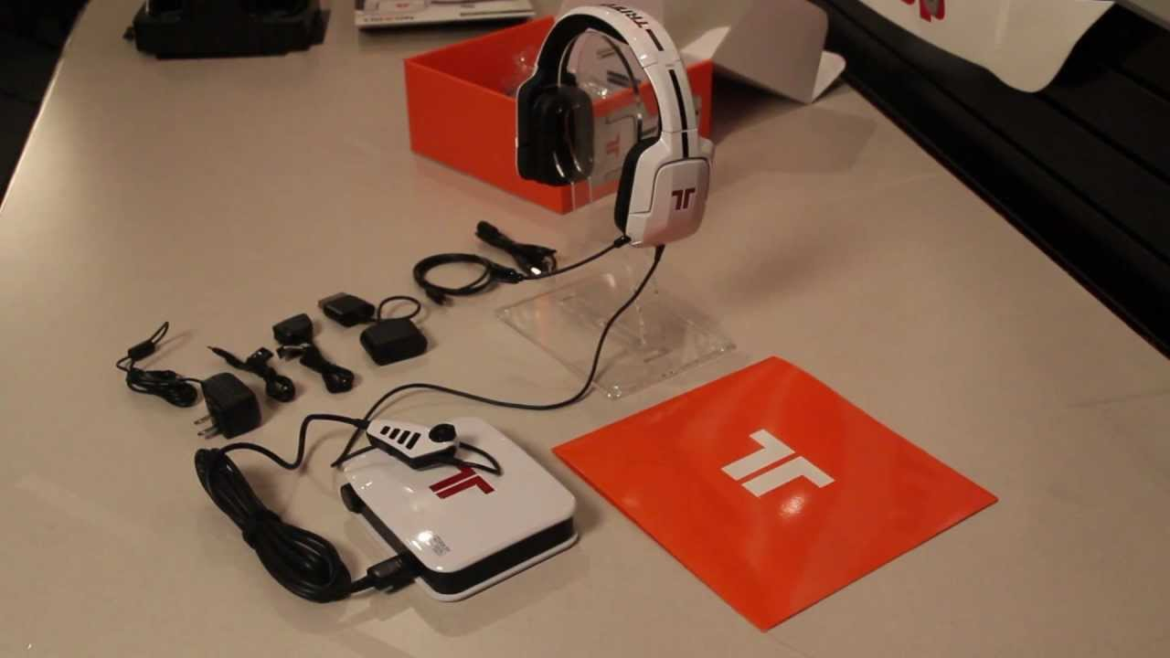 17ff830424b TRITTON Pro+ 5.1 Surround Headset Product unboxing - YouTube