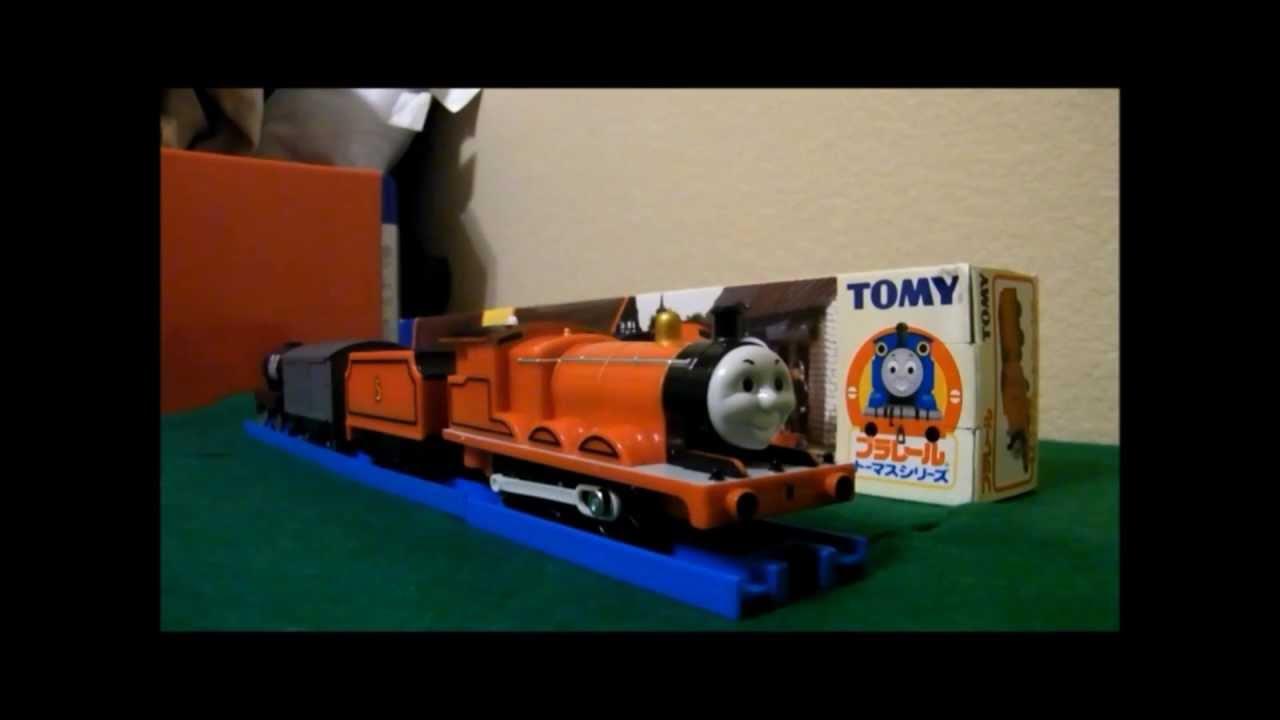 Takara Tomy Plarail T 05 James Review Youtube