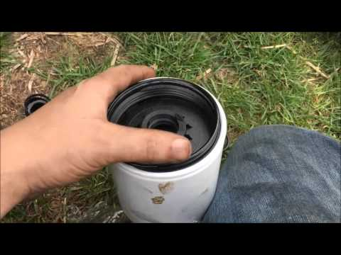 DIY How to Replace a Duramax Fuel Filter - YouTube