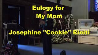 Chef Anton Eulogy for Mom