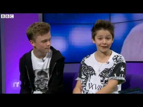 Bars And Melody On CBBC Newsround (22/7/14)