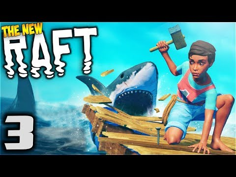 RAFT - Research Table - Let's Play Raft Multiplayer Gameplay Part 3 (Multiplayer Raft Survival Game)