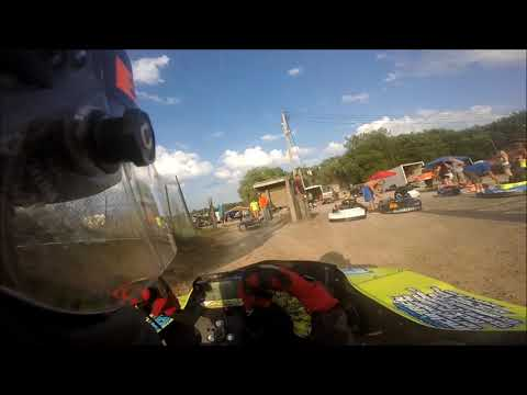 Paradise Speedway Blue Plate Jr Restricted Heat and Feature  7-27-19