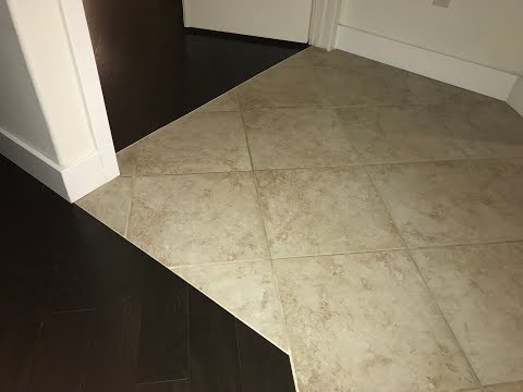 Tile to Hardwood Floor Transition Ideas (Skill level = 6 beers)