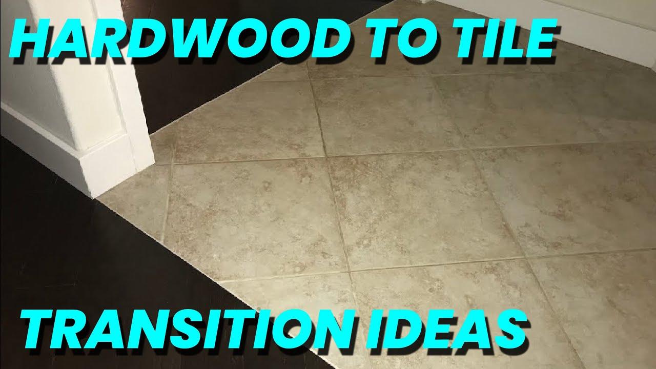 tile to hardwood floor transition ideas skill level 6 beers