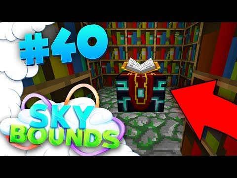EPIC ENCHANTMENT CRATES! | SKYBOUNDS ISLAND #40 (Minecraft SkyBlock SMP)