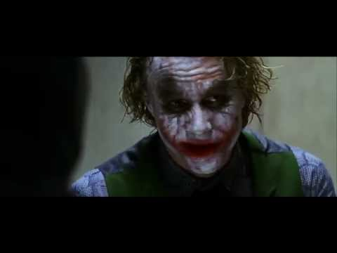 The Dark Knight - Batman Interrogates The Joker - French And English Subtitles