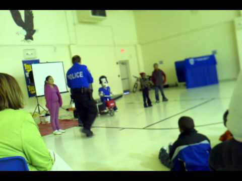 Columbus Police Department focused on Bicycle Safety to South Columbus Elementary School
