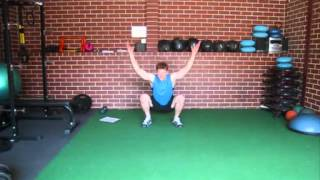Surfing Exercises, Ski Exercises - Squat to Stand