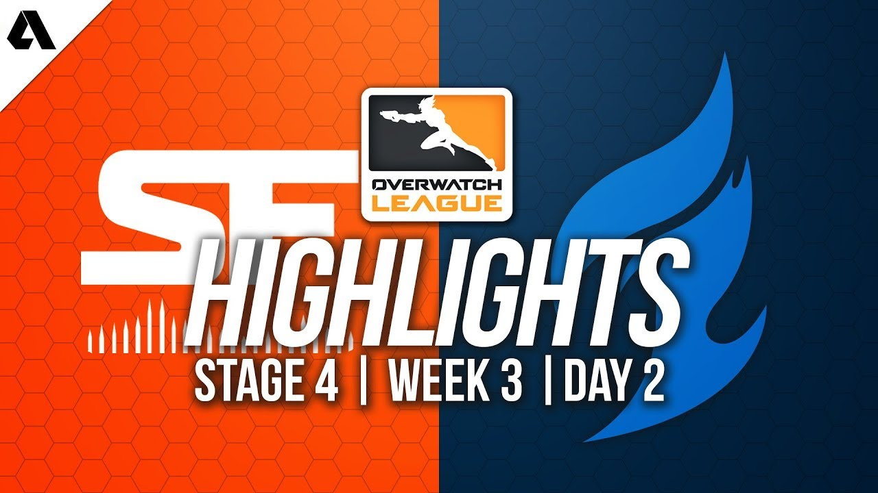 San Francisco Shock vs Dallas Fuel | Overwatch League Highlights OWL Stage  4 Week 3 Day 2