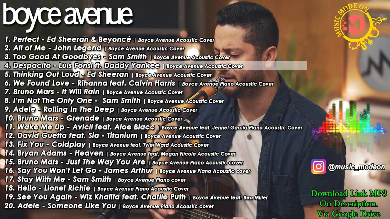 free download lagu mp3 boyce avenue acoustic cover