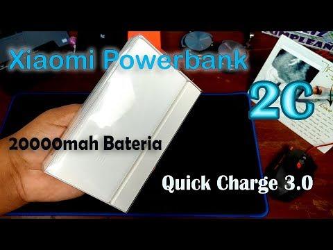 La Powerbank Perfecta De Xiaomi 20000mah Con Quick CHarge 3.0 - Powerbank 2C