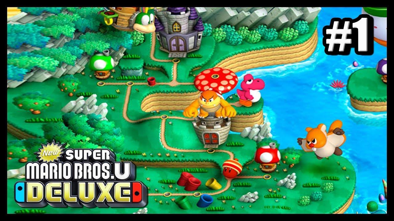 Plaine Du Grand Chene Monde 1 New Super Mario Bros U Deluxe 1