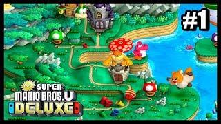 PLAINE DU GRAND CHENE / MONDE 1 (New Super Mario Bros U Deluxe #1)