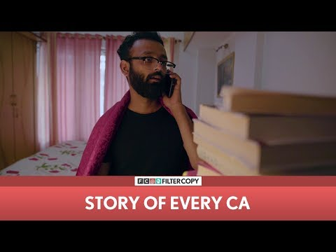 FilterCopy | Story Of Every CA | Ft. Be YouNick (BYN)