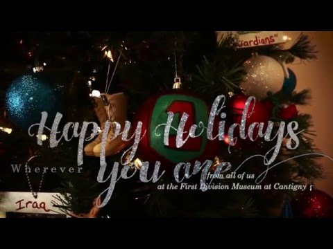 Happy Holidays from the First Division Museum
