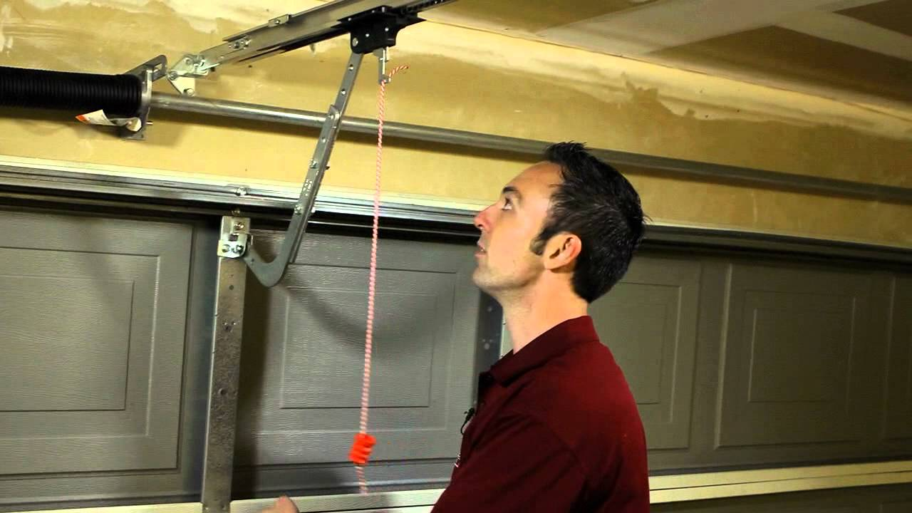 small resolution of genie garage door opener manual disengage