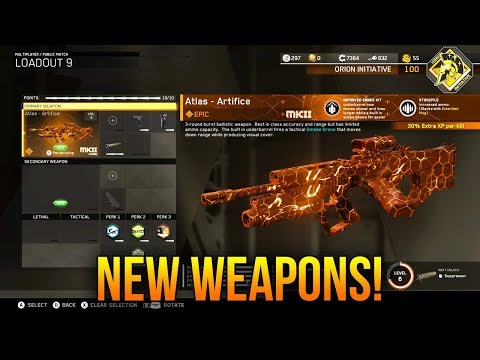 RAIJIN-EMX & ATLAS: NEW WEAPONS in INFINITE WARFARE! (NEW UPDATE)