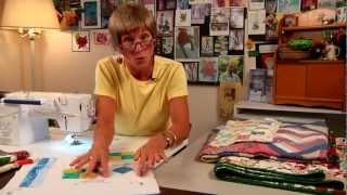 Walking foot machine quilting designs | Craftsy Quilting with Wendy Butler Berns