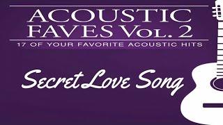 Various Artists - Secret Love Song (Official Lyric Video)