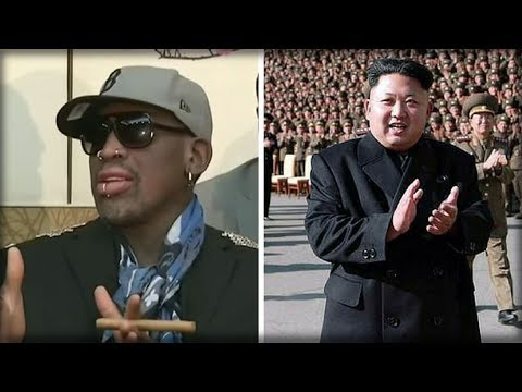DENNIS RODMAN LANDS IN NORTH KOREA, BUT LOOK WHAT CHANGES RIGHT AFTER HE ARRIVES