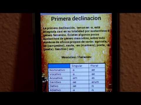 översätt till latin