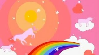 Pink fluffy unicorns dancing on rainbows [10 hours]