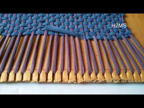 How to make simple doormat /rug at home,DIY Recycling ideas from old leggings ,kaise banaye door mat
