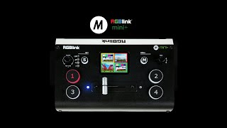 RGBlink Mini / Mini+ introduction