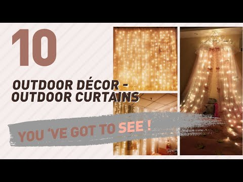Top 10 Outdoor Décor - Outdoor Curtains // New & Popular 2017