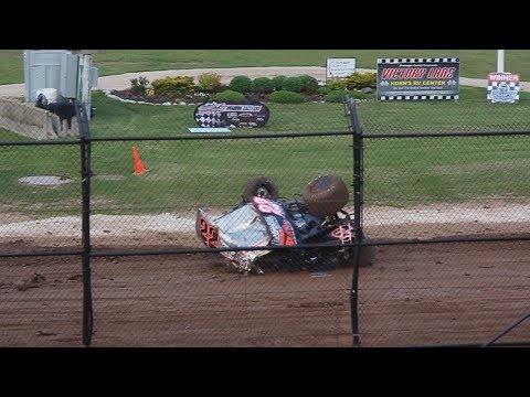 Every Flip From Plymouth Dirt Track Racing (6-8-2019)