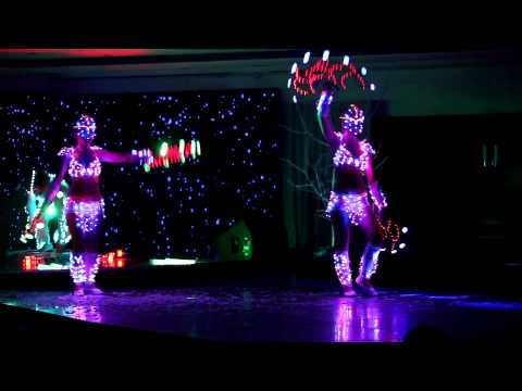 Световое шоу Light show ETERE 2011