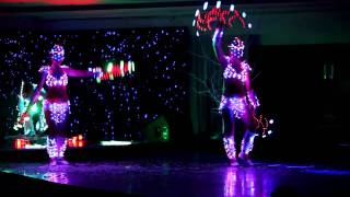 Световое шоу Light show ETERE 2011