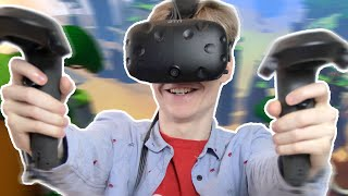 AWESOME VR SPIDERMAN GAME! | Windlands (HTC Vive Gameplay)