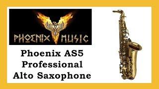 Phoenix AS5 Professional Alto Saxophone test played by Noah Graben