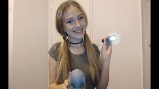 ASMR Checking Your Eyes With a Flashlight | Up-Close Whispers  ♥