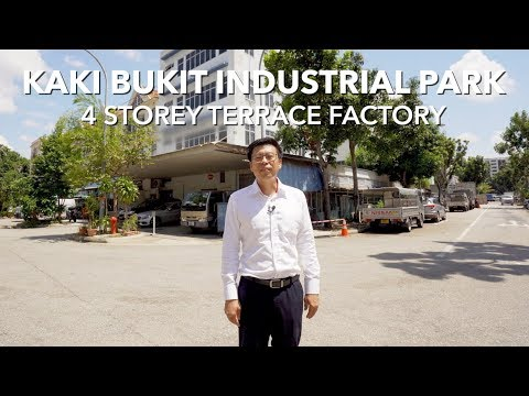 Singapore Commercial Property Listing Video - Kaki Bukit Industrial Park Terrace Factory For Sale