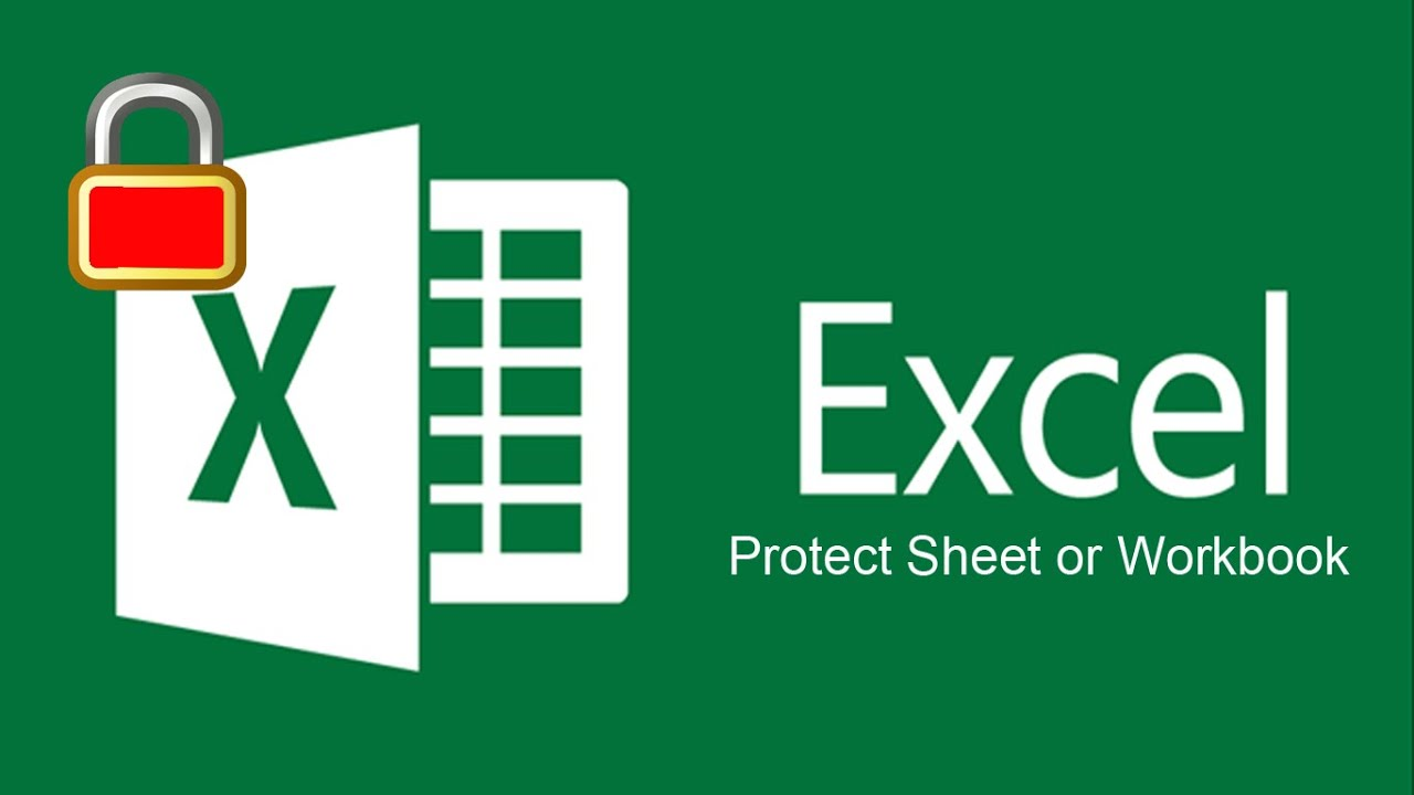 How to protect sheet or workbook in excel 2016 YouTube – Protect Worksheet