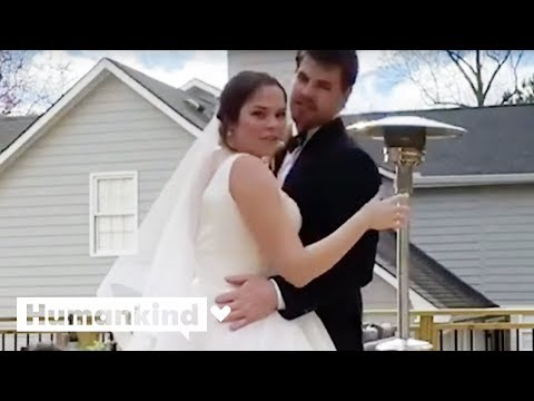 Couple streams nuptials during pandemic | Humankind